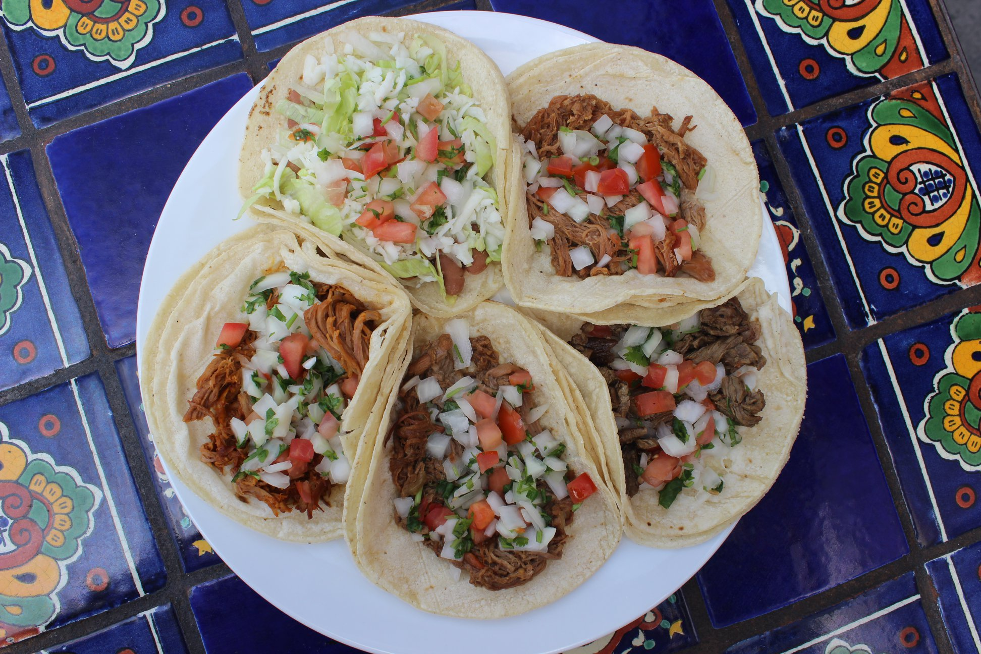 Yuca's Tacos Plate